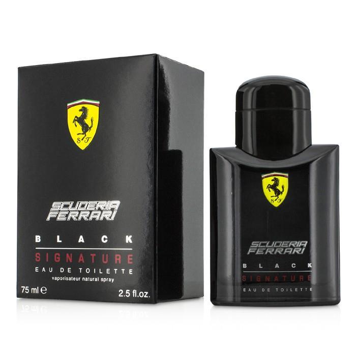 フェラーリ スクーデリア ブラック シグネチャー EDT SP 75ml/2.5oz