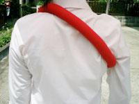 肩ブレラ装着方法