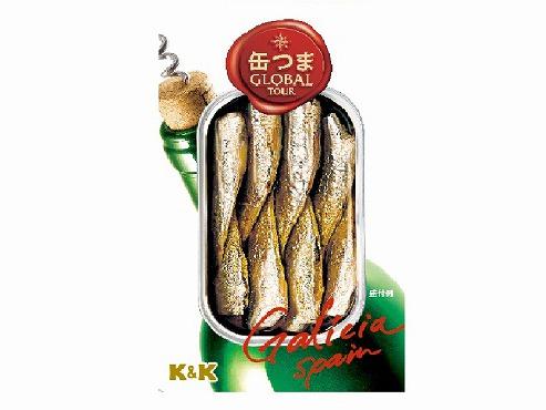 K&K 缶つまGlobalTour 小鰯のオリーブオイル x5