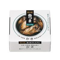 K&K 缶つまプレミアム 広島かき 燻製油漬け x6
