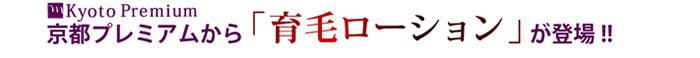 京都プレミアム 薬用スカルプ育毛ローション 医薬部外品