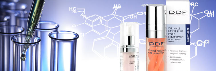 DDFは、にきびを防ぐ成分「グリコール酸」を扱うアメリカの2大会社の1つとしても知られています。