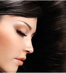 健康的な髪の写真