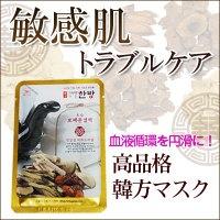 韓方エッセンスマスク 敏感肌トラブルケア(ぷるんツヤ肌)10枚セット
