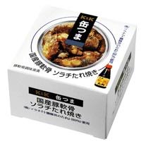 缶つま 国産豚軟骨 ソラチたれ焼き 携帯缶 x6個