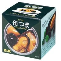 缶つまベジタパス ムール貝とオリーブのバジル風味 65g x6個