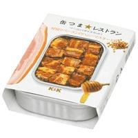 缶つまレストラン 厚切りベーコンのハニーマスタード味 105g x6個