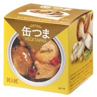 缶つまベジタパス エリンギとマッシュルームのアヒージョ x6個