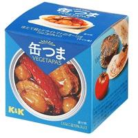 缶つまベジタパス ほたて貝とドライトマトのオーリオ x6個