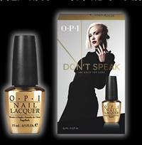 HR F19 Gwen Stefani for OPI DON'T SPEAK 18K GOLD Top Coat(ドントスピーク)