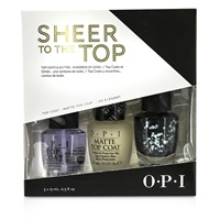 シアートゥトップ (Top Coat & Glitter Trio) 15ml×3