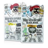 3ステップ ブラックシートマスク - ビタカプセル 10x28g/0.93oz