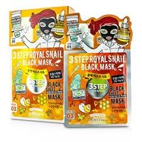 3ステップ ブラックシートマスク - ロイヤルスネイル 10x28g/0.93oz