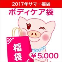 2017★サマー福袋★ボディケア袋 五千円