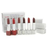 リップスティックカラーコレクション # ベルベットセット 1 ( 6x Lipstick  3.5g/0.12oz ) 6pcs
